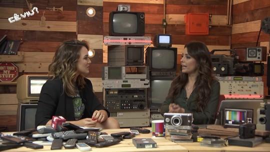 Reveja: Cecília Ribeiro mostra vídeos de telespectadores e bate-papo com Rafa Kalimann