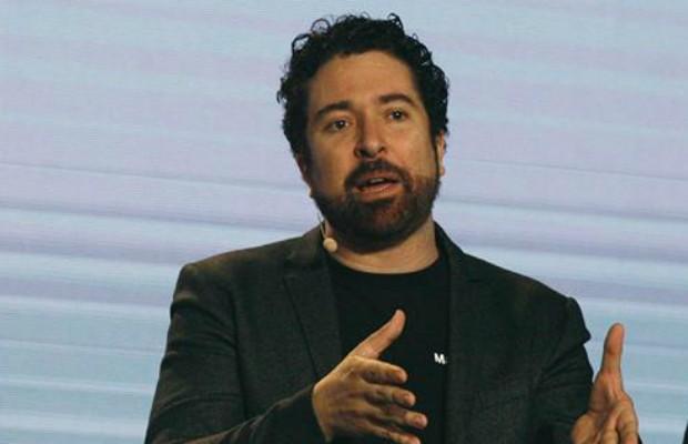 Carlos Azevedo, da MarketUp, durante o Startup Path Summit (Foto: Divulgação/Mastercard)
