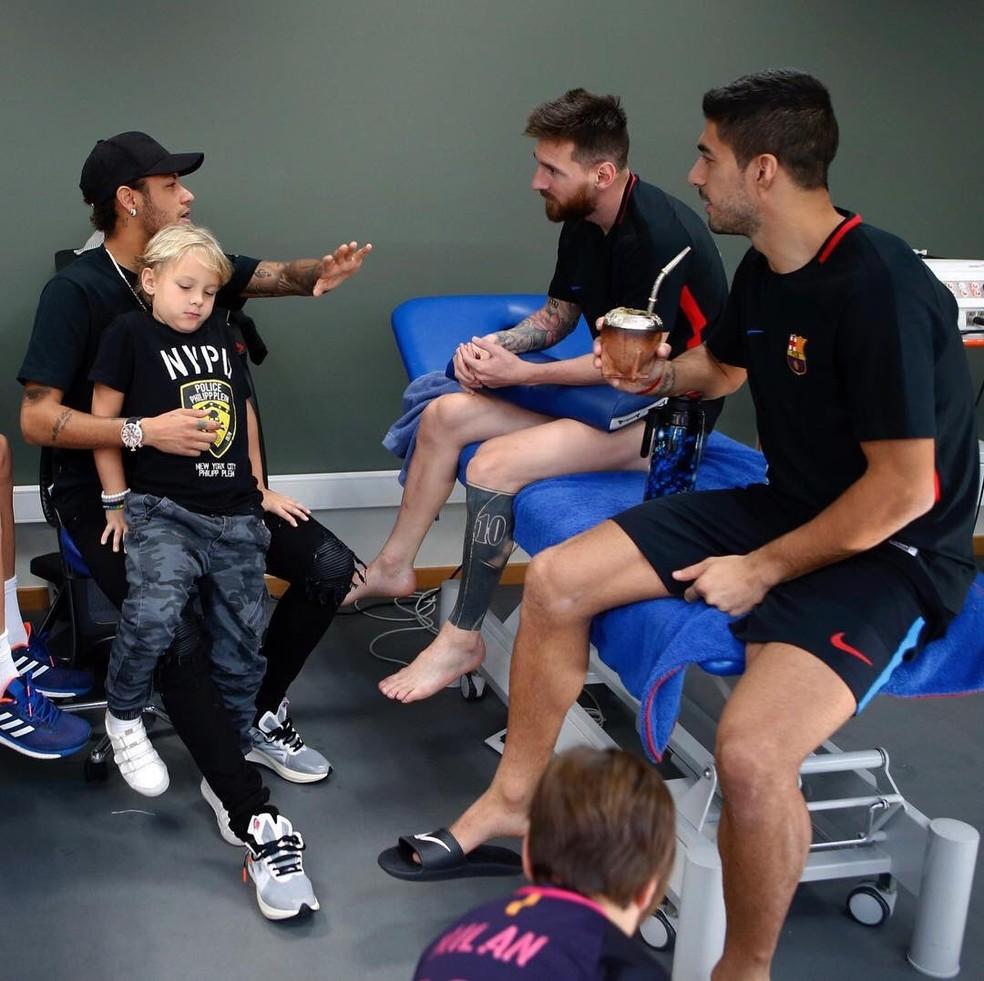 Desejo de Neymar é o que mantém esperança do Barcelona em ter o craque — Foto: Reprodução/Instagram