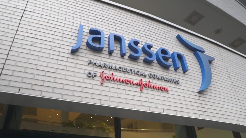 Janssen farmacêutica Johnson — Foto: Janssen/ Divulgação