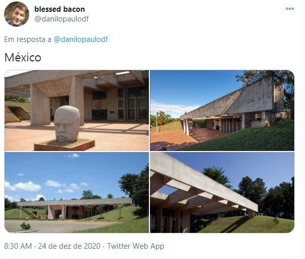 Embaixada do México em Brasília (Foto: Reprodução)
