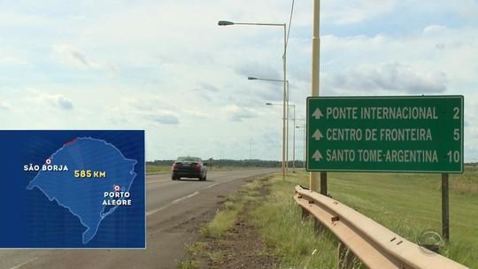 Poucos funcionários e postos fechados colocam em risco as fronteiras gaúchas