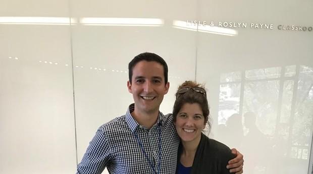 Pedro Moura, fundador da startup Flourish, e Kayla Kraich-Moura, sua esposa (Foto: Divulgação)