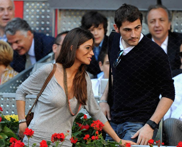 Sara Carbonero e Iker Casillas, goleiro da Espanha (Foto: Getty Images)