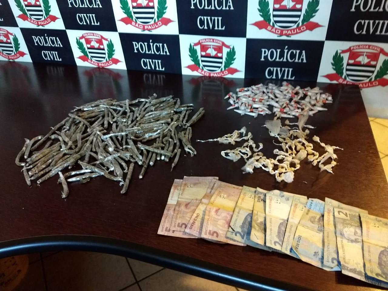 Jovem é preso por suspeita de tráfico de drogas em Mongaguá