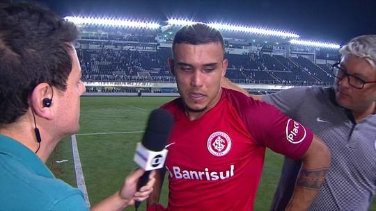 Pottker ressalta importância da vitória do Internacional sobre o Santos