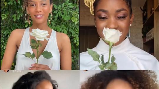 Dia da Consciência Negra com afeto: atrizes se unem em vídeo especial nas redes sociais
