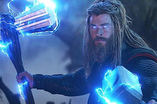 O ator Chris Hemsworth como o herói Thor em Vingadores: Ultimato (2019) (Foto: Reprodução)