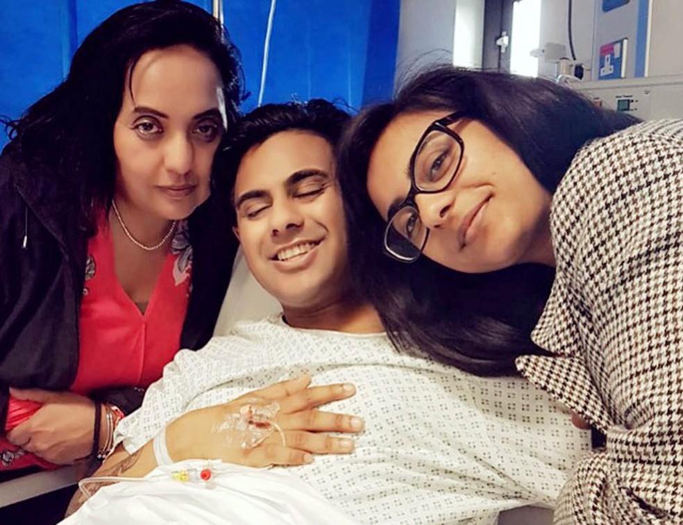 Anick no hospital — Foto: BBC