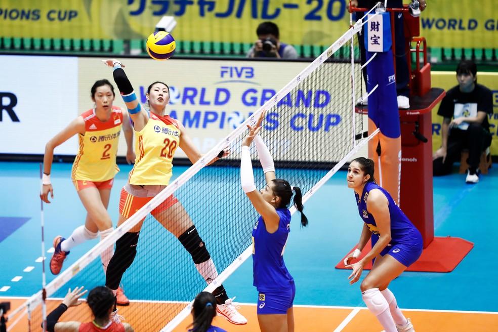 A China venceu no detalhe (Foto: FIVB / Divulgação)