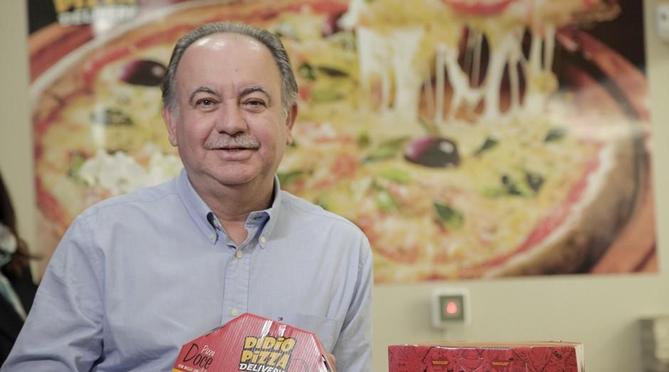 Elidio Biazini, fundador da Dídio Pizza (Foto: Divulgação)