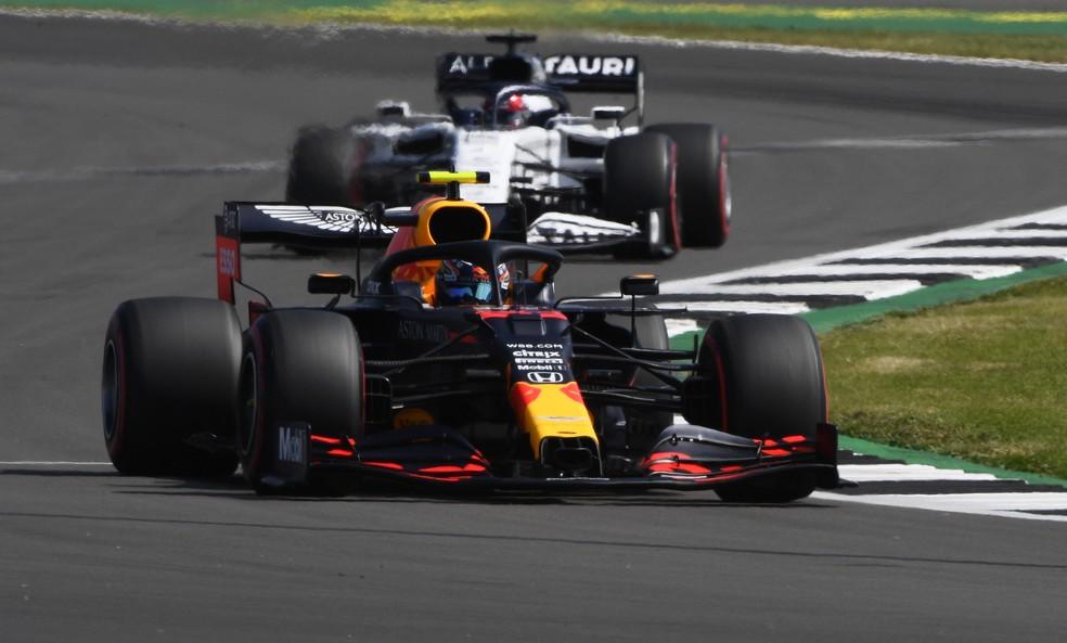 RBR e AlphaTauri utilizam motores Honda na F1 — Foto: Getty Images