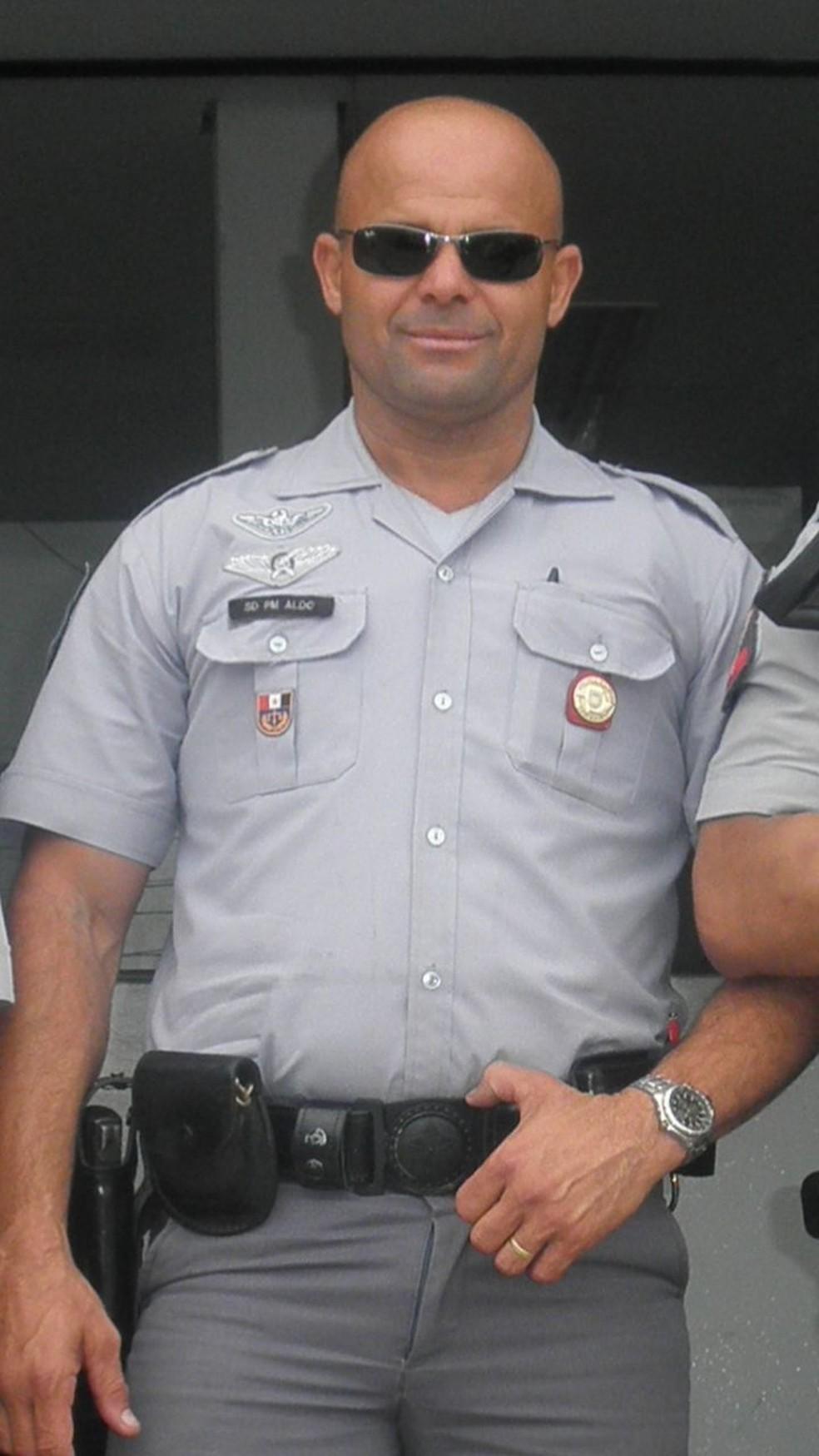Policial Militar foi morto com, ao menos, 10 tiros de fuzil em Vicente de Carvalho, em Guarujá (SP). — Foto: Arquivo Pessoal