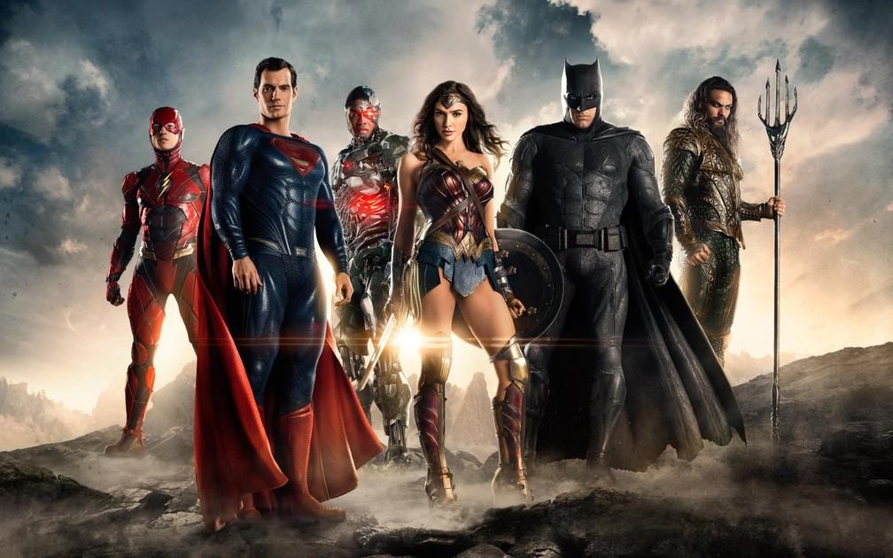 Elenco de 'Liga da Justiça' (Foto: Divulgação)