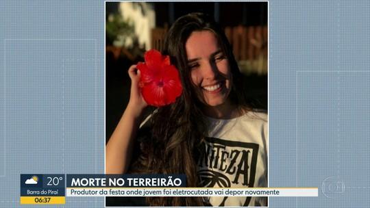 Delegada quer ouvir novamente o produtor de festa onde jovem morreu eletrocutada no Rio
