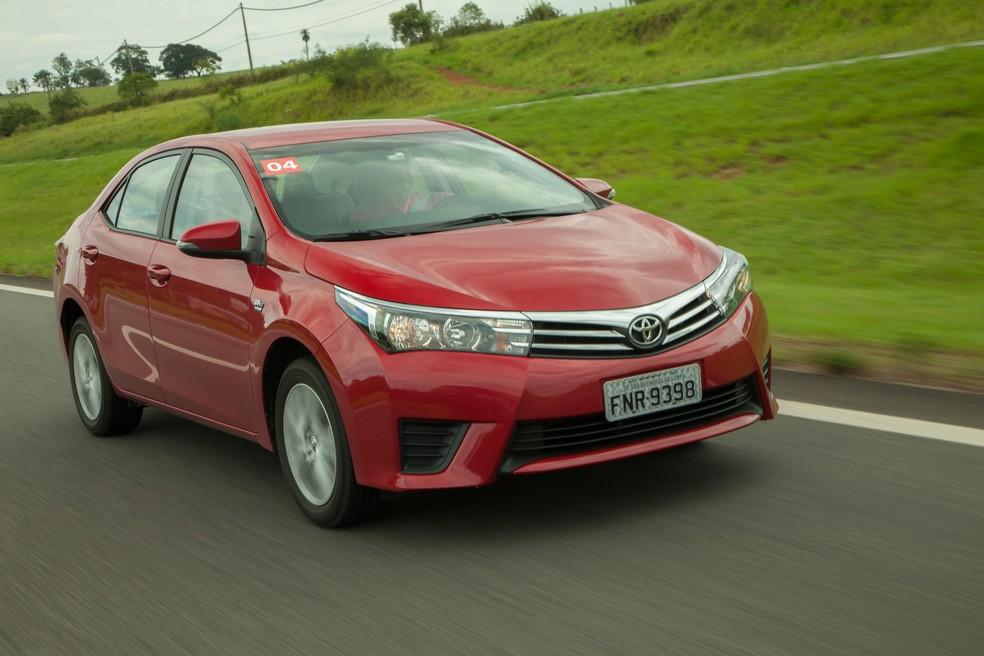 Toyota Corolla — Foto: Divulgação