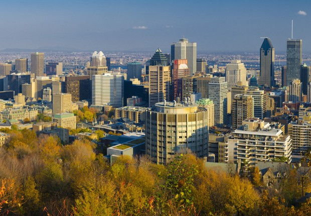 Cidade de Montreal, no Canadá (Foto: Thinkstock)