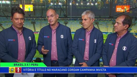 Muricy vê Brasil bem servido na frente, mas crê que Tite terá dificuldades em armar defensa