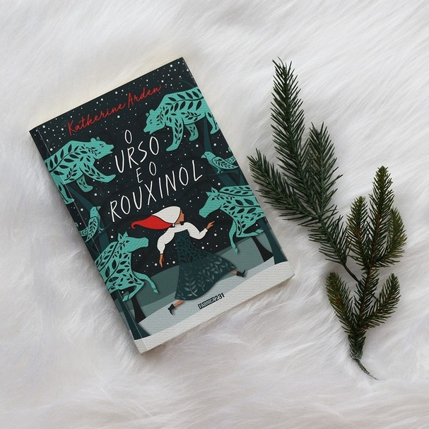 Livro O Urso e o Rouxinol, da Rocco (Foto: Reprodução/Instagram)