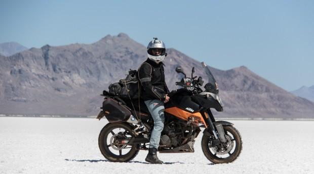 O empreendedor teve a ideia de criar o app depois de uma viagem de moto pelo sul da América do Sul (Foto: Divulgação)
