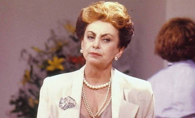 Beatriz Segall, a vilã Odete Roitman de 'Vale tudo' (Foto: TV Globo)