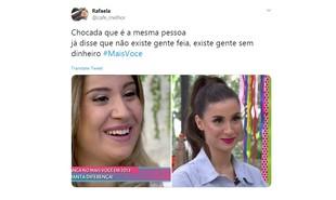 Comentários de internautas sobre Bianca Andrade | Reprodução/Twitter