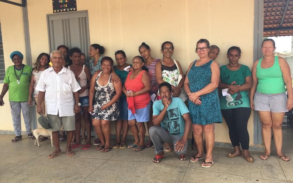 Projeto ajuda famílias carente do Jardim do Cerrado III, em Goiânia — Foto: Vanessa Chaves/ G1
