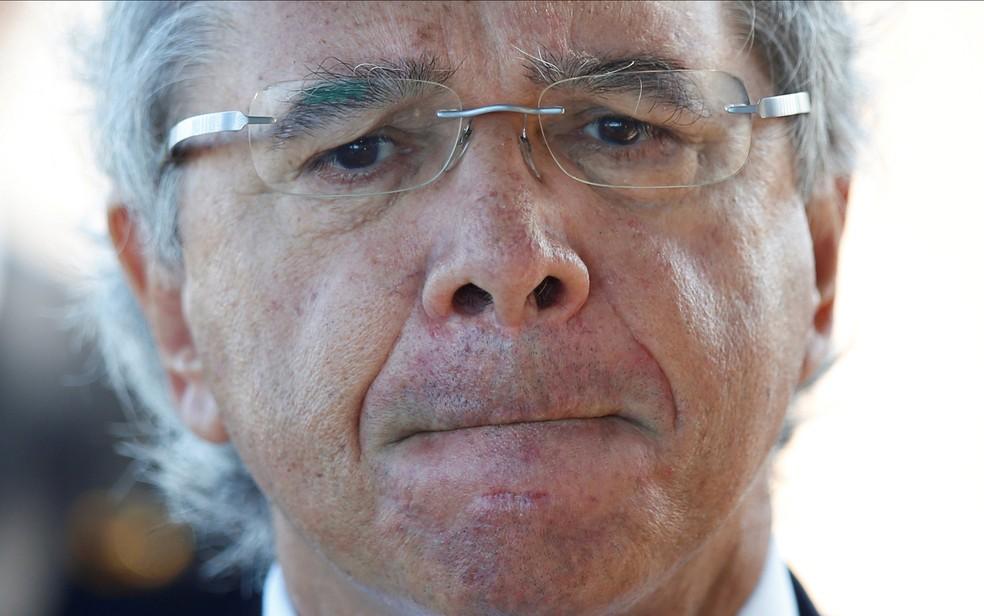 O ministro da Economia, Paulo Guedes — Foto: Ueslei Marcelino/Reuters