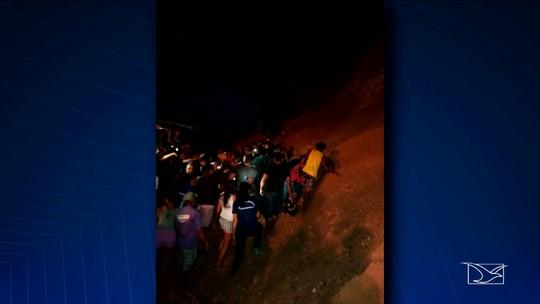 Duas crianças morrem soterradas no Maranhão