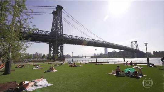 Parque construído em área degradada vira atração em NY