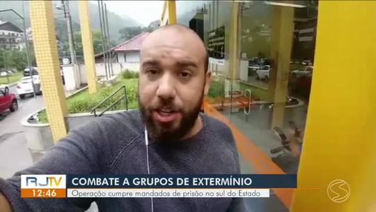 Policial militar é preso em operação contra 'matadores' no RJ