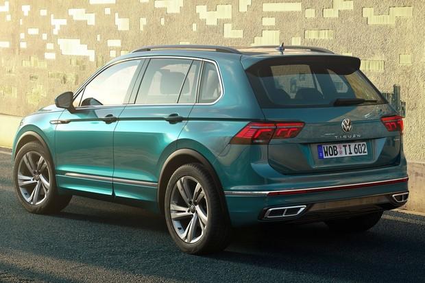 Volkswagen Tiguan Traseira Estática (Foto: Divulgação)