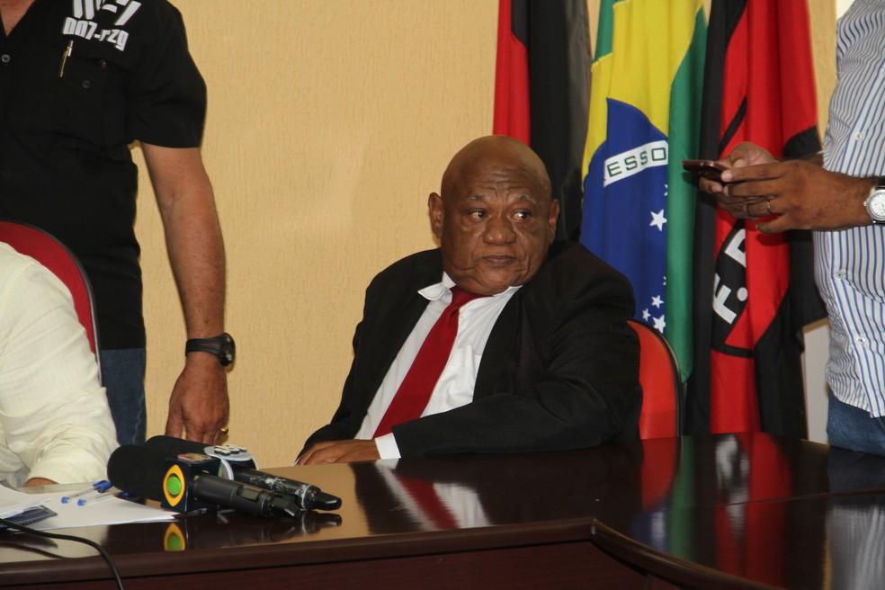Lionaldo Santos, ex-presidente TJDF-PB também foi banido  — Foto: Cisco Nobre / GloboEsporte.com