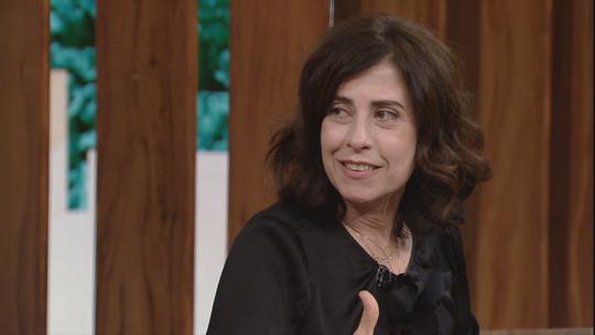 Fernanda Torres lembra casamento com Bial e brinca: 'Devo ao Pedro o primeiro capítulo deste livro'