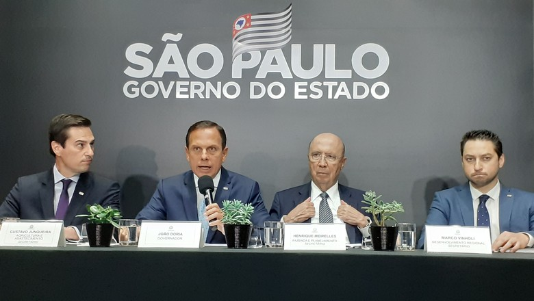 governo-sp-icms-doria (Foto: Mariana Grilli/Ed.Globo)