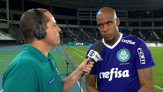 """""""Fizemos um excelente jogo"""", diz Jailson após empate com o Botafogo"""
