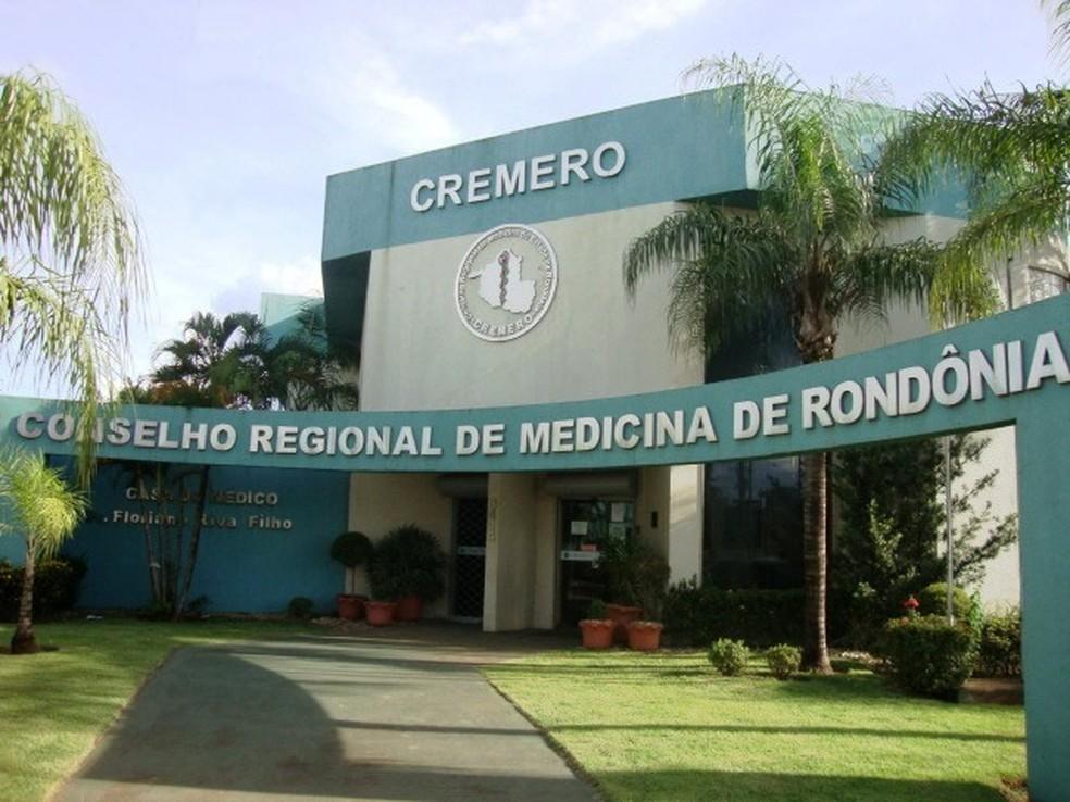 Família de Francisca denunicou médico plantonista ao Conselho Regional de Medicina de Rondônia (Cremero).  (Foto: Cremero/Divulgação)