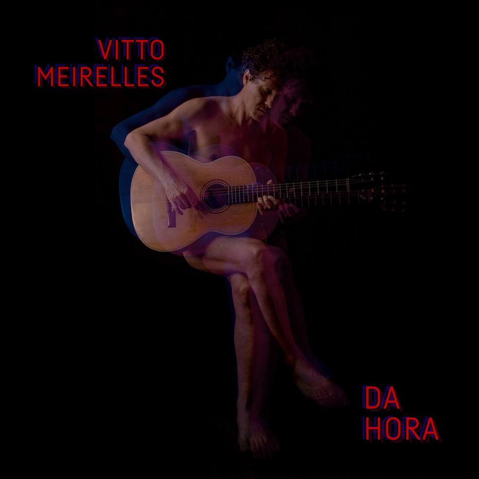 Capa do álbum 'Da hora', de Vitto Meirelles — Foto: Divulgação