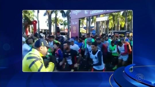 Veja como foi a corrida de rua de Bocaina