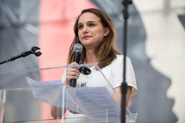 A atriz Natalie Portman sempre foi ativa contra as violações aos direitos civis e humanos  (Foto: Getty Images)