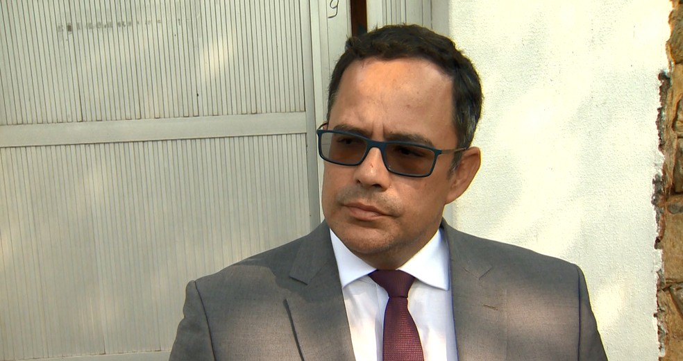 Advogado de comissão da OAB explica crimes que advogadas são suspeitas, no ES  — Foto: Samy Ferreira/ TV Gazeta