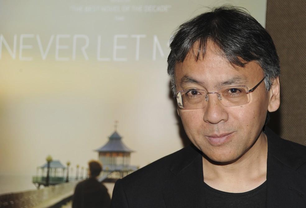 Kazuo Ishiguro em foto de setembro de 2010  (Foto: Evan Agostini/AP)
