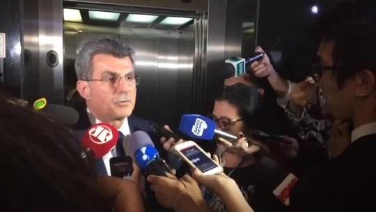 Jucá diz que denúncia contra ele é 'um ato de despedida' de Janot da PGR
