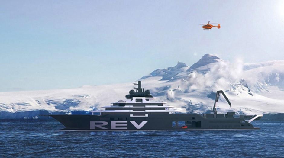 O REV terá até 181 metros de comprimento. (Foto: Divulgação)