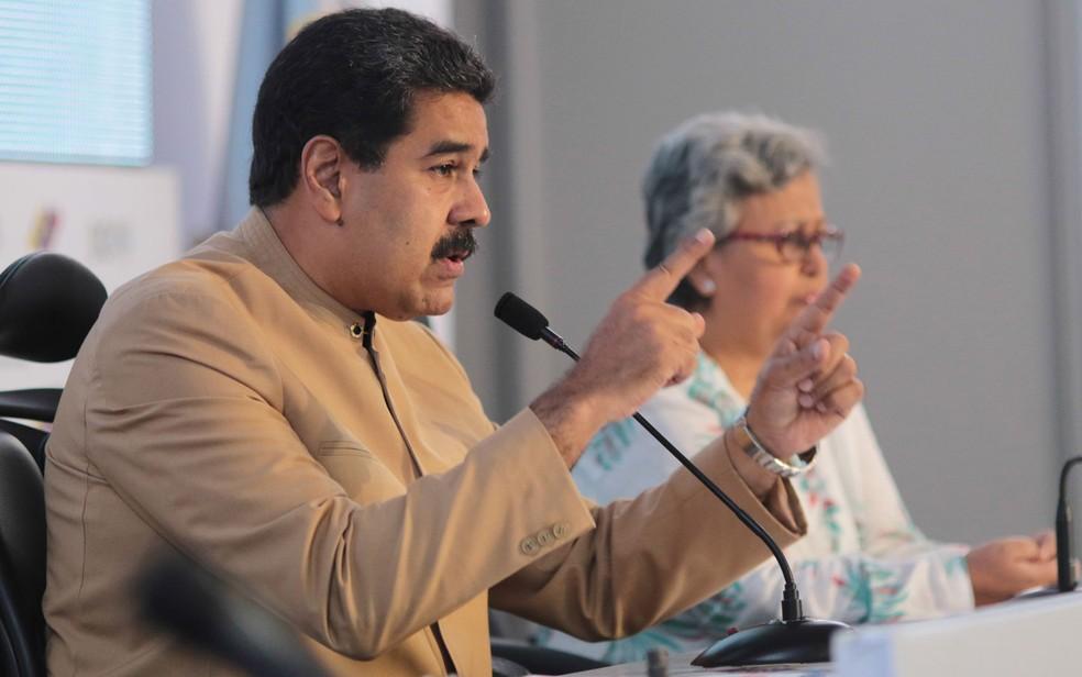 Criação de Assembleia Constituinte rendeu críticas internacionais a Maduro (Foto: HO/Presidency/AFP)