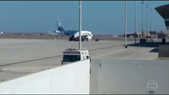 Ameça de bomba provoca fechamento de aeroportos na Argentina, Peru e Chile