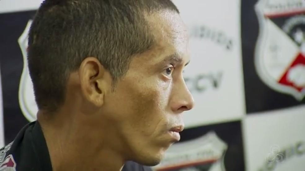 Suspeito foi preso por matar e colocar pedras em aluno (Foto: Rede Amazônica/Reprodução)