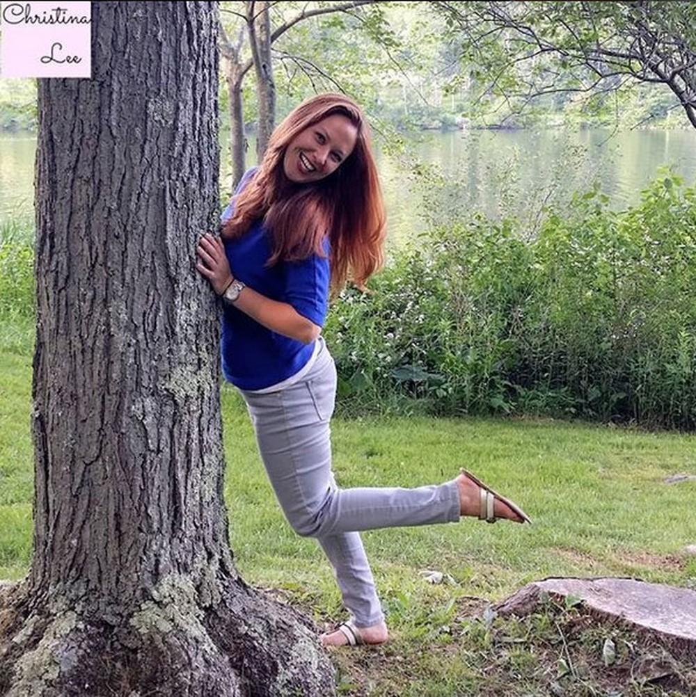 Heather em foto tirada antes da doença (Foto: Reprodução/Instagram/christina.lee.photography)