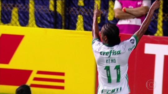 Palmeiras vence o Boca Juniors e se classifica para as oitavas da Libertadores