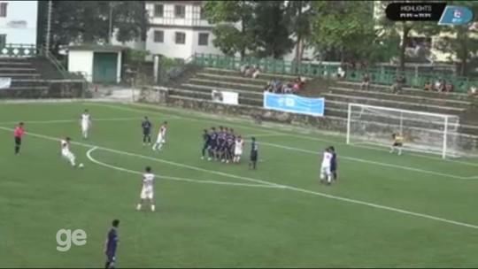 """Brasileiro abandona salão de beleza para brilhar no futebol do Butão: """"Sonho de criança"""""""